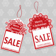 Christmas Sale Tags — Stock Vector #35097789