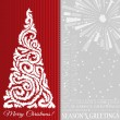 Stock Vector: Elegant Christmas Background