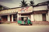 People. Life. City. Road. Reportage. Shops. House. Transport. Travel — Stock Photo