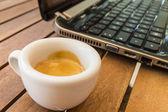 Koffiepauze — Stockfoto