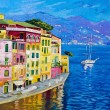 Beautiful landscape in Portofino 2 — Stock Photo
