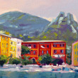 Stock Photo: Beautiful landscape in Portofino 2