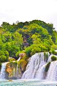 Krka national park Kroatië — Stockfoto