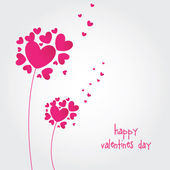 Valentines Day background - Stock Vector — Stock Vector
