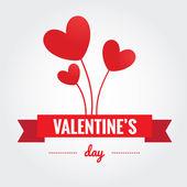 Valentines Day background - Stock Vector — Vector de stock