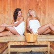Stock Photo: Women in sauna