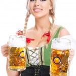 Oktoberfest waitress — Stock Photo #34693403