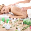 Stock Photo: Massage