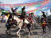 Carnaval a cavalo — Stockfoto