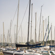 Yachts at berth — Stock Photo