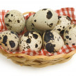 Quail eggs — Stock Photo #34652501