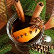 Mulled wine — Stock Photo #34653365