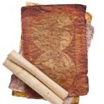 hoja de papel viejo — Foto de Stock