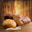 Stock Photo: rye bread