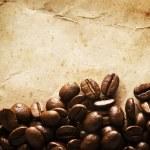 Coffee grunge background — Stock Photo