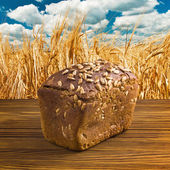 Roggebrood — Stockfoto