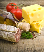 Italian appetizers — Stock Photo