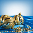 Golden christmas ball — Stock Photo #34980281