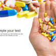 Taking Pills — Stock Photo