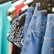 Clothes (selective focus) — Stock Photo