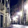 Stock Photo: Night Street in the Old Town