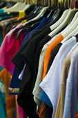 Clothes (selective focus) — Stockfoto