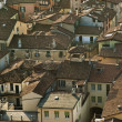 City tiled roofs — Stock Photo