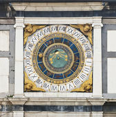 Close-up of the clock — Stock Photo