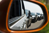 Mirror of car — Stock Photo