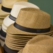 Gentlemen s hats — Stock Photo