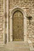 Rustic door — Stockfoto