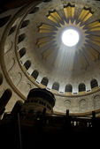 Interior of the Church of the Holy Sepulchre in Jerusalem — Foto Stock