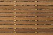 Fondo de madera con tablas horizontales — Foto de Stock