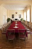 Elegantly designed banquet hall — Stock fotografie