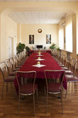 Elegantly designed banquet hall — Photo