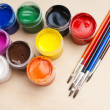 Paint buckets — Stock Photo #36946853