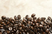 Brown coffee, close-up — Foto Stock