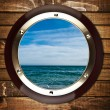 Cabin window — Stock Photo #37882935