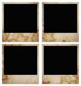 Blank grunge photo frame ready to be populated with any image — Stock Photo