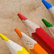 Stock Photo: Color pencil