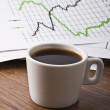 Cup of coffee on your desktop — Stock Photo