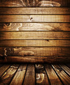Vintage wooden planks wall background — Stock Photo