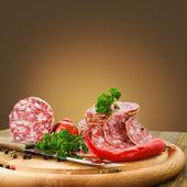 Italian salami — Stock Photo