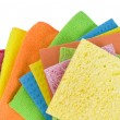 Group of kitchen sponges — Stock Photo #40709533