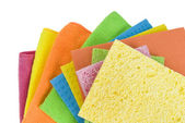 Group of kitchen sponges — Stock Photo