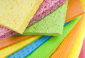 Colorful sponges — Stock Photo