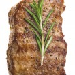 Stock Photo: Grilled steak with rosemary