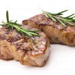 Stock Photo: Grilled beef steaks