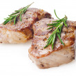 Stock Photo: Steaks with rosemary