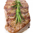 Stock Photo: Beef with rosemary